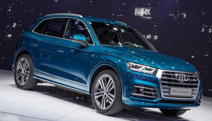 Были сделаны шпионские снимки рестайлингового Audi Q5