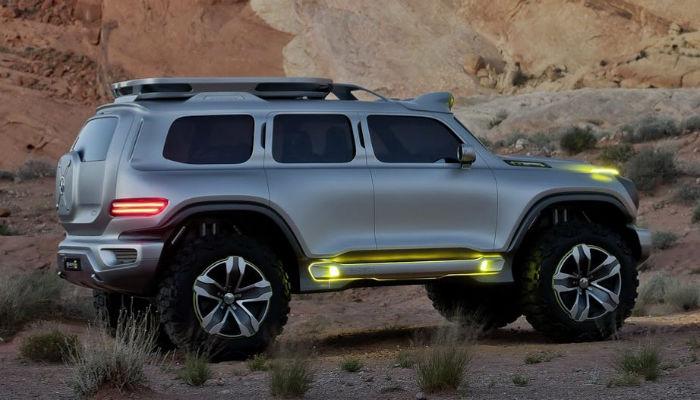 Внедорожник будущего - Mercedes-Benz Ener-G-Force